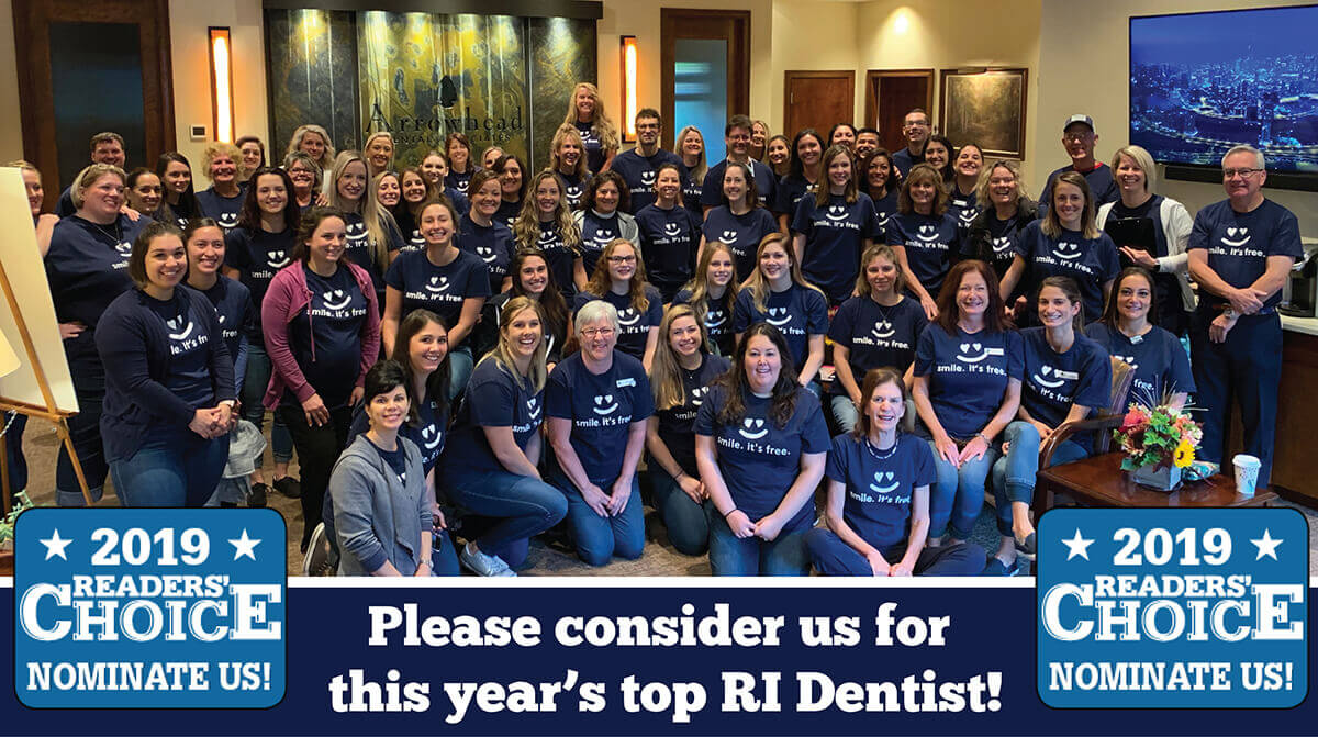 Nominate us for Reader's Choice Top RI Dentists